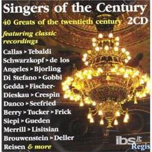 Singers of the 20th Century - CD Audio