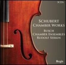 Musica da camera - CD Audio di Franz Schubert