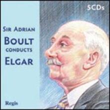 Boult conducts Elgar - CD Audio di Edward Elgar,Sir Adrian Boult