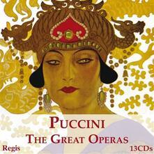 Great Operas - CD Audio di Giacomo Puccini