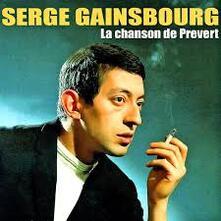 La Chanson De Prevert - CD Audio di Serge Gainsbourg