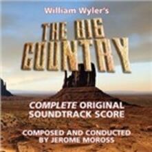 The Big Country (Colonna Sonora) - CD Audio di Jerome Moross