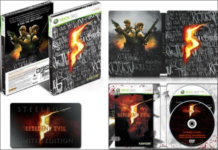 Resident Evil 5 Steel Box - 2