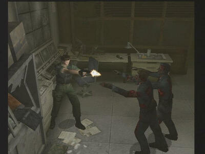 Resident Evil Code. Veronica X - 2