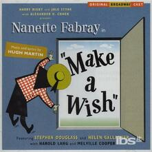 Make a Wish (Colonna Sonora) (Original Broadway Cast) - CD Audio
