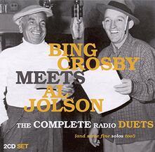 Bing Crosby Meets Al Jolson - CD Audio di Bing Crosby,Al Jolson
