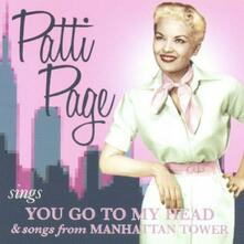 You Go to My Head - CD Audio di Patti Page