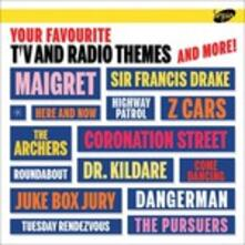 Your Favourite TV and Radio Themes and More (Colonna Sonora) - CD Audio
