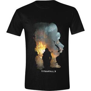 T-Shirt Unisex Titanfall 2. Titan Scorch And Kane
