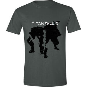 T-Shirt Unisex Titanfall 2. Character Silhouette