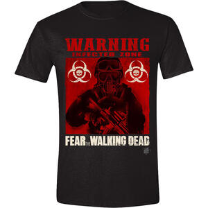 T-Shirt unisex Fear The Walking Dead. Infected Poster
