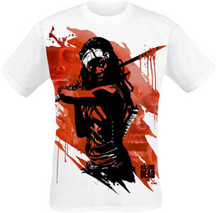 T-Shirt uomo Walking Dead. Michonne Samurai