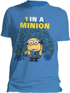 T-Shirt uomo Cattivissimo me 2. 1 In a Minion