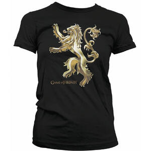 T-Shirt donna Trono di Spade (Game of Thrones) Chrome Lannister Sigil