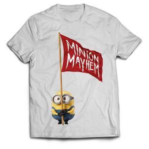 T-Shirt unisex Minions Movie. Minion Mayhem