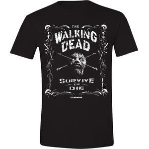 T-Shirt unisex The Walking Dead. Survive or Die