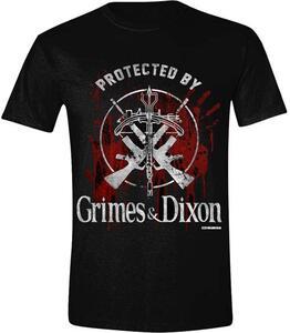 T-Shirt unisex Walking Dead. Grimes / Dixon Protection Logo