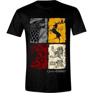 T-Shirt unisex Game of Thrones. Distressed Sigil (Trono di Spade)