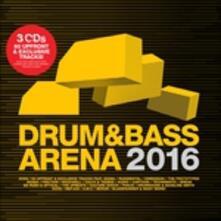 Drum & Bass Arena 2016 - CD Audio