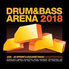Drum & Bassarena 2018 - CD Audio