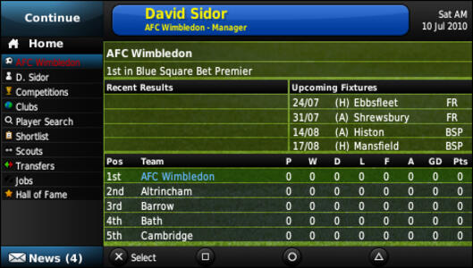 Football Manager 2011 - 7