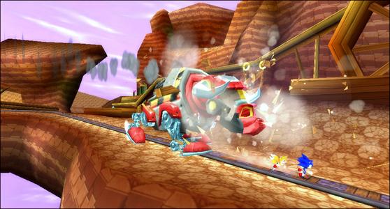 Videogioco Essentials Sonic Rivals 2 Sony PSP 8