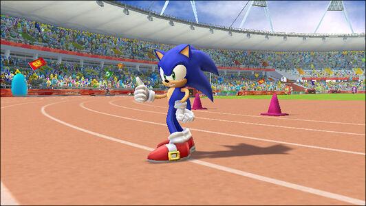 Videogioco Mario & Sonic Giochi Olimpici Londra 2012 Nintendo WII 1