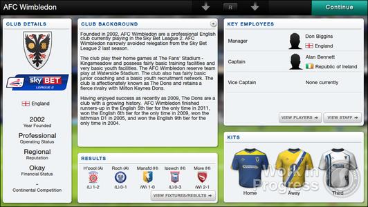 Videogioco Football Manager Classic 2014 PS Vita 1