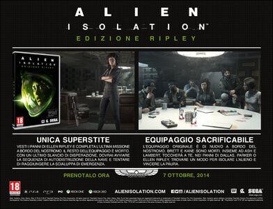 Videogioco Alien: Isolation Edizione Ripley Xbox One 1
