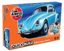 Set Costruzione Macchina Quickbuild. Volkswagen Beetle, Blu