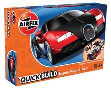 Set Costruzione Macchina Quickbuild. Bugatti Veyron, Nro & Rosso