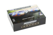 Scalextric Ford Gt40 1968. Gulf Triple Pack. Limited Edition Scalextric Cars Gulf Edition 1:32 In Clear Box