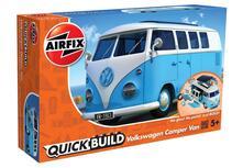 Set Costruzione Macchina Quickbuild. Volkswagen Camper Van, Blu