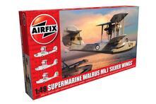 Aereo Militare Supermarine Walrus Argento Wings Series 9