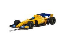 Scalextric 2018 Mclaren F1 Scalextric Cars Super Resistant 1:32 In Card Box