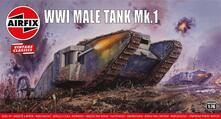 """Mezzi Militari Ww1 """"Male"""" Tank Vintage Classics"""