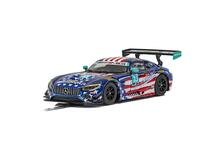 Scalextric Mercedes Amg Gt3 - Riley Motorsports Team Scalextric Cars Gt/Prototype 1:32