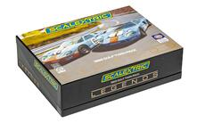 Scalextric Ford Gt40 1969 - Gulf Twin Pack Scalextric Cars Gulf Edition 1:32