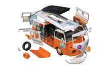 Set Costruzione Macchina Quickbuild. Volkswagen Camper Surfin