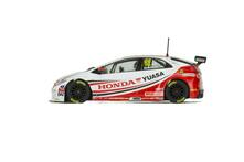 Scalextric Btcc Honda Civic Type R - Gordon Shedden 2015 Scalextric Cars Touring 1:32
