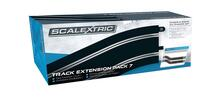 Scalextric Track Extension Pack 7 - 4 X 350Mm Straights, 4 X Radius 3 Curve 22.5O