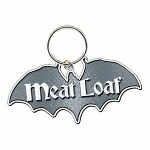 Portachiavi Meat Loaf. Bat Out of Hell in Metallo