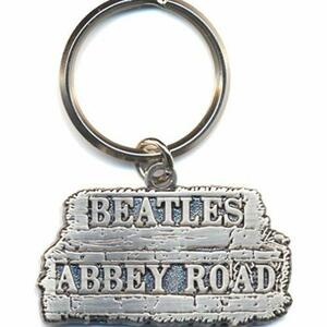Portachiavi The Beatles. Abbey Road Sign in Metallo