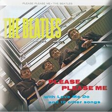 Idee regalo Spilla Badge The Beatles. Please Please Me Album Rock Off
