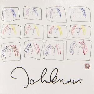 Magnete in metallo John Lennon. Imagine Motion Montage