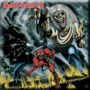 Magnete Iron Maiden. Number Of The Beast