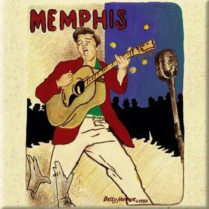 Magnete Elvis Presley. Memphis