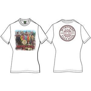 T-Shirt Donna The Beatles. Sgt Pepper