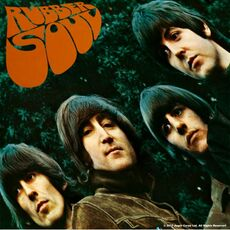 Idee regalo Sottobicchiere The Beatles. Rubber Soul Album Rock Off