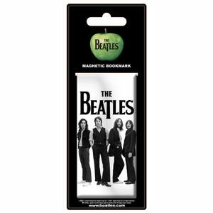 Segnalibro Magnetico The Beatles. White Iconic Image